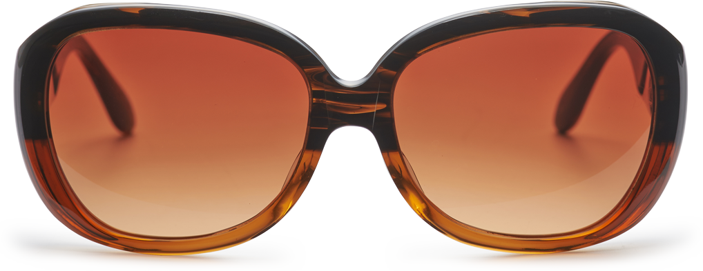 アンバーブラウン × オレンジ・ブラウン・グラディエント正面画像
