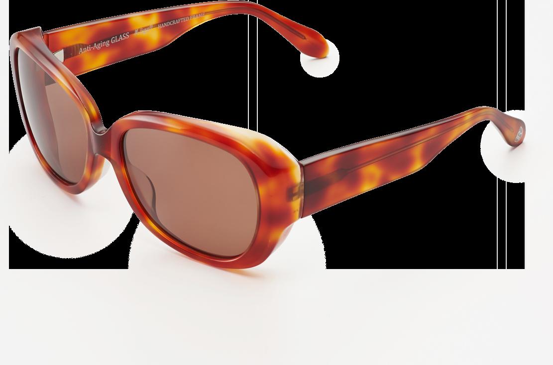ヴィンテージハバナ × クラシックブラウン斜め上画像